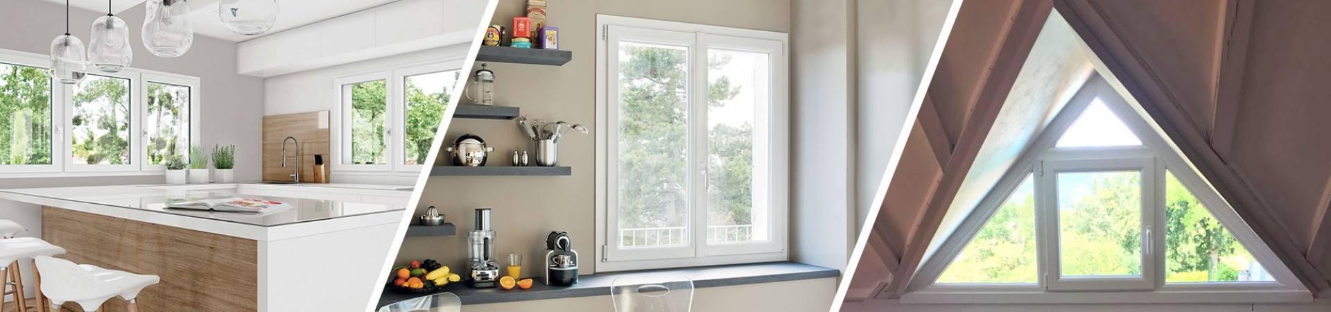 Fenêtre PVC triple