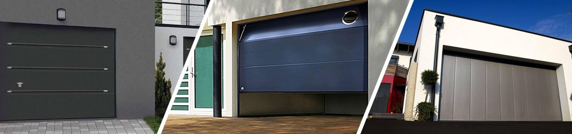 Porte garage sectionelles